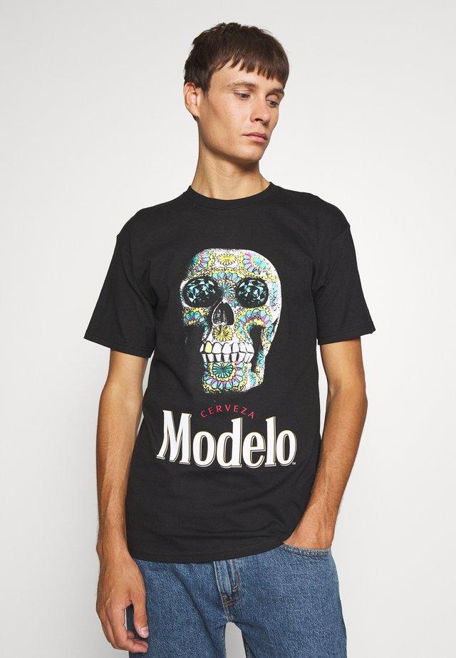 CALAVERA TEE - T-shirt print - black