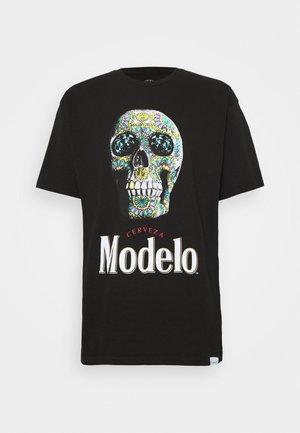 CALAVERA TEE - T-shirt imprimé - black