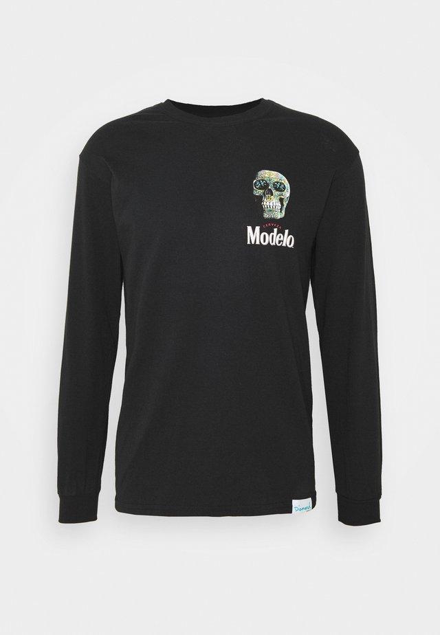 CALAVERA TEE - T-shirt à manches longues - black