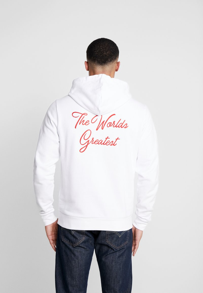 Diamond Supply Co. - FIGHT HOODIE - Hættetrøjer - white