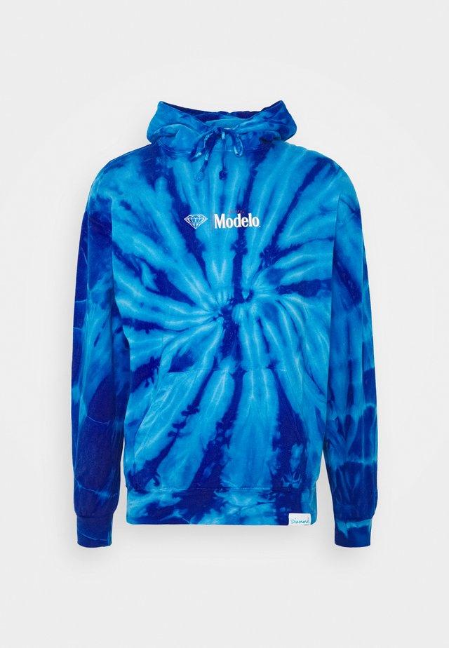 CALAVERA HOODIE - Huppari - dark blue