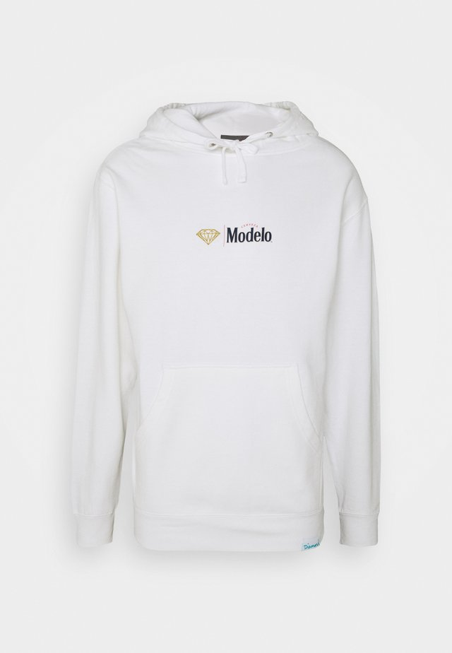 ESPECIAL HOODIE - Mikina s kapucí - white