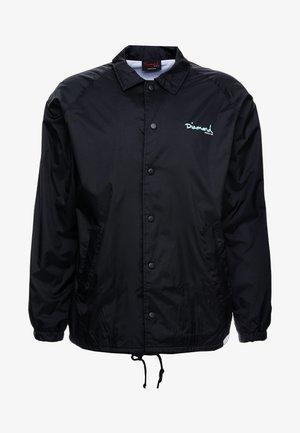 SCRIPT COACH CORE - Summer jacket - black