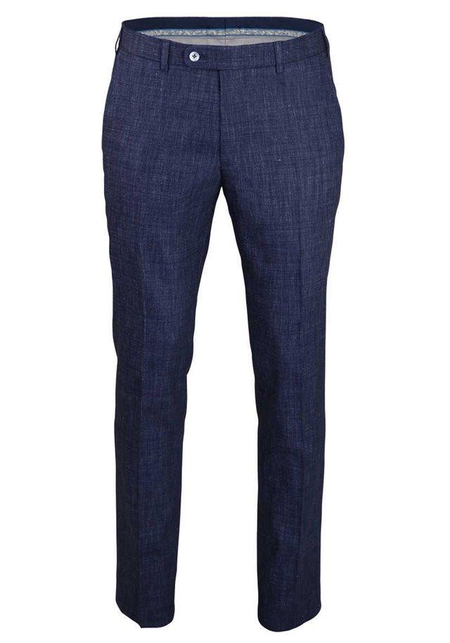 SERGIO - Suit trousers - dunkelblau
