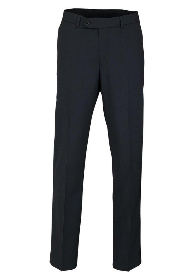 MIT TASCHEN - Suit trousers - dunkelblau