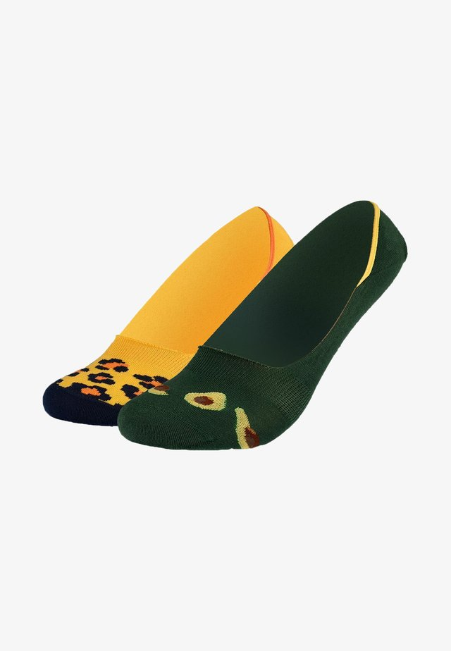 Varrettomat sukat - green