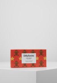 Dilly Socks - SNOWY HOLIDAYS 3PACK - Socks - multi-coloured - 3