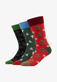 Dilly Socks - SNOWY HOLIDAYS 3PACK - Socks - multi-coloured - 1