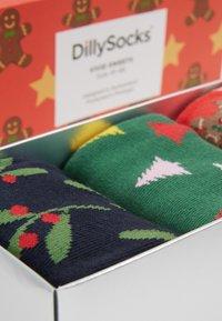 Dilly Socks - SNOWY HOLIDAYS 3PACK - Socks - multi-coloured - 2