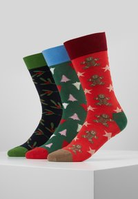 Dilly Socks - SNOWY HOLIDAYS 3PACK - Socks - multi-coloured - 0