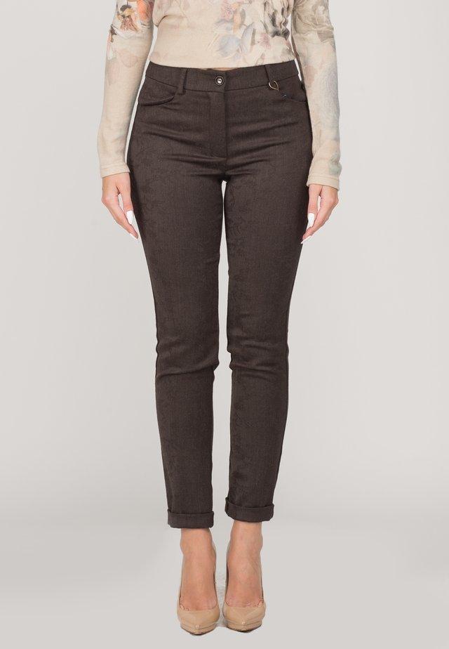 MONTY - Trousers - brown