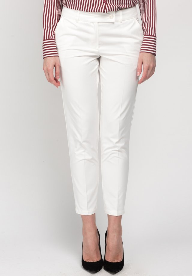 PANT RENE - Trousers - white