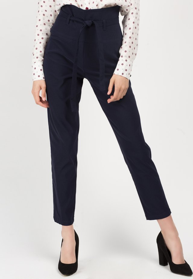 PANT HIGH WAIST MARTY - Broek - blue