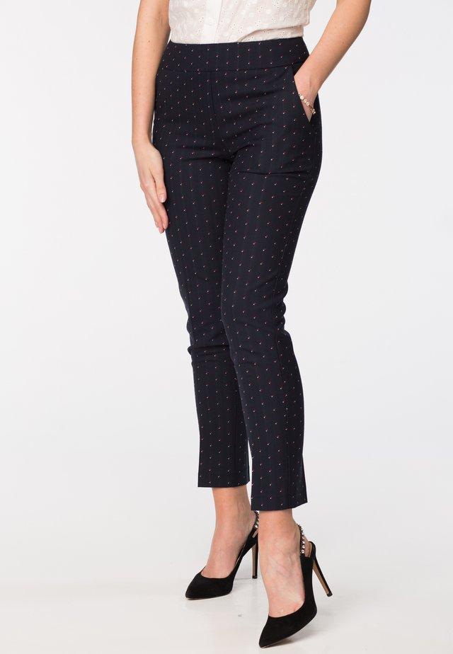 SHANTI - Trousers - blue