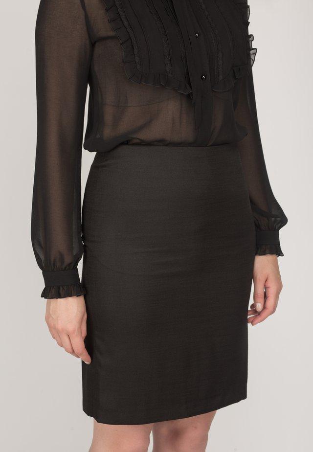 LONNA - Pencil skirt - black