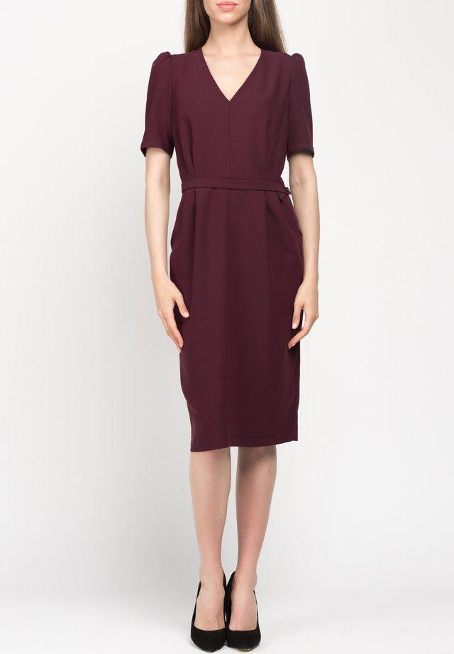 AGATHA - Korte jurk - bordeaux