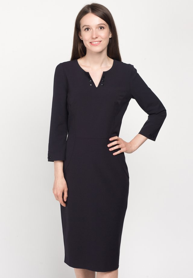 DRESS SPARV - Korte jurk - corvettes blue
