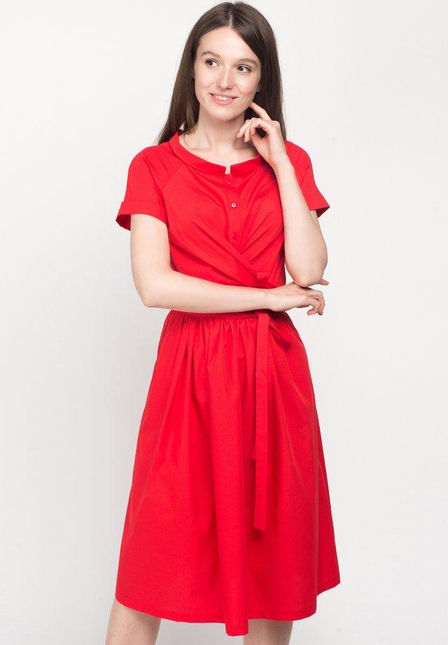 CHANTAL - Day dress - red