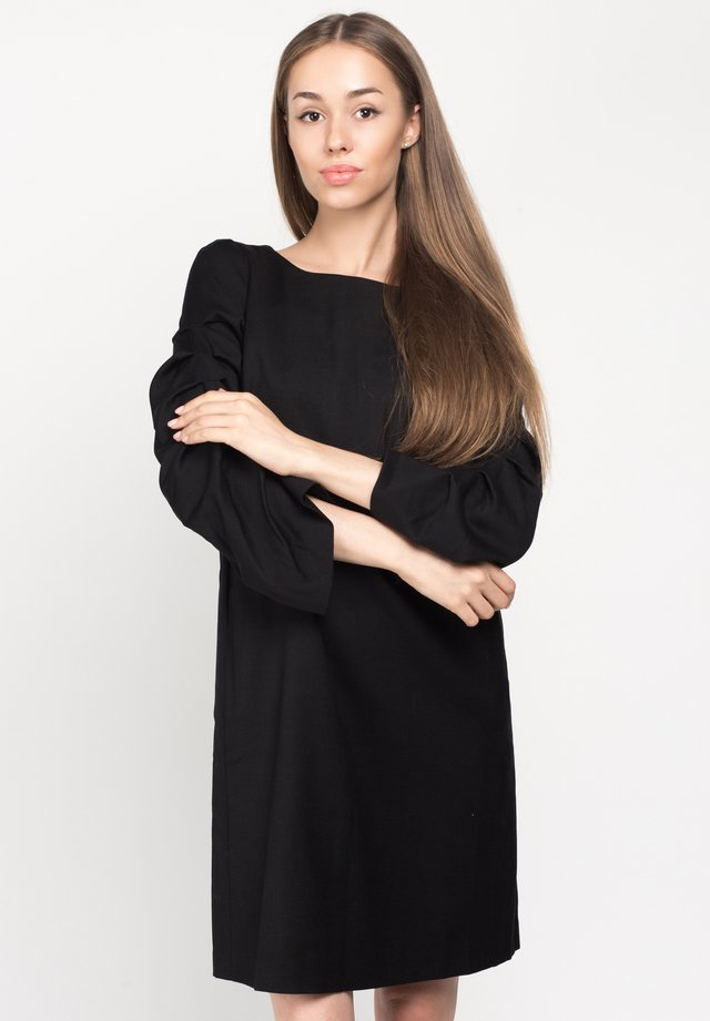 MONACO - Jumper dress - black