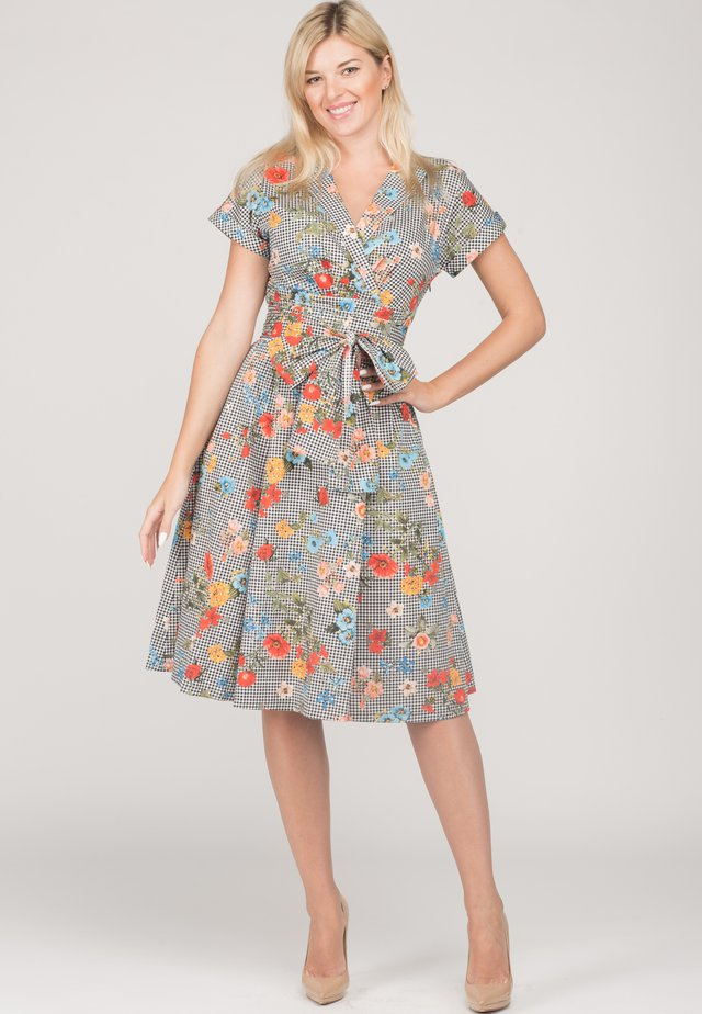 GABBY - Day dress - cell frowers