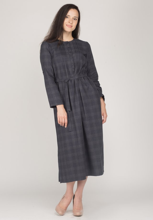 CONSUELLA - Shirt dress - blue cell