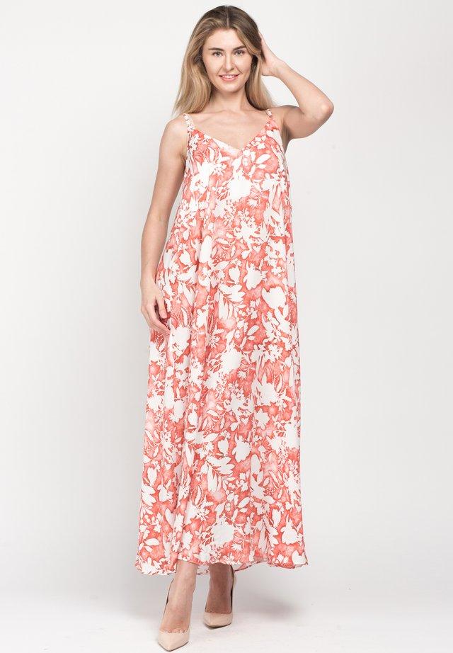 MIRABELLA - Maxi dress - off-white, red