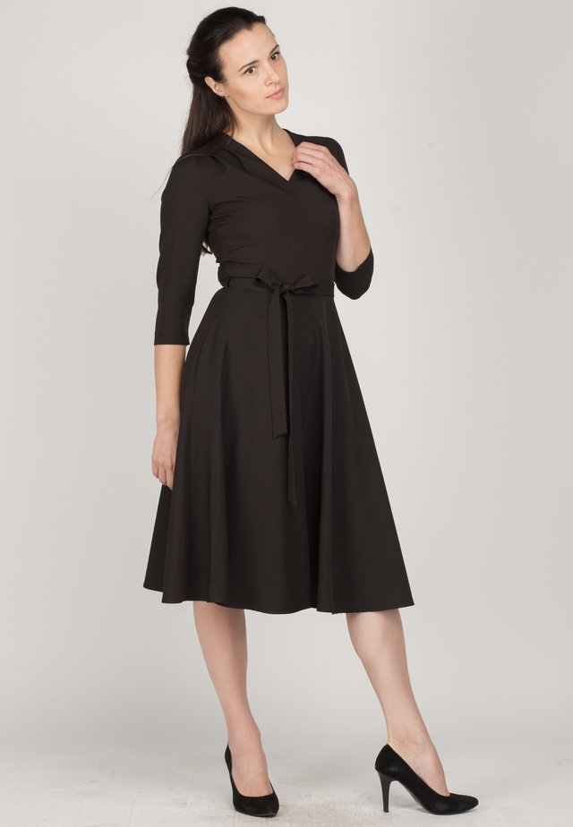 FLATERED - Day dress - black