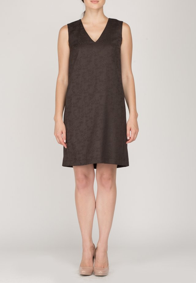ERICA - Day dress - brown