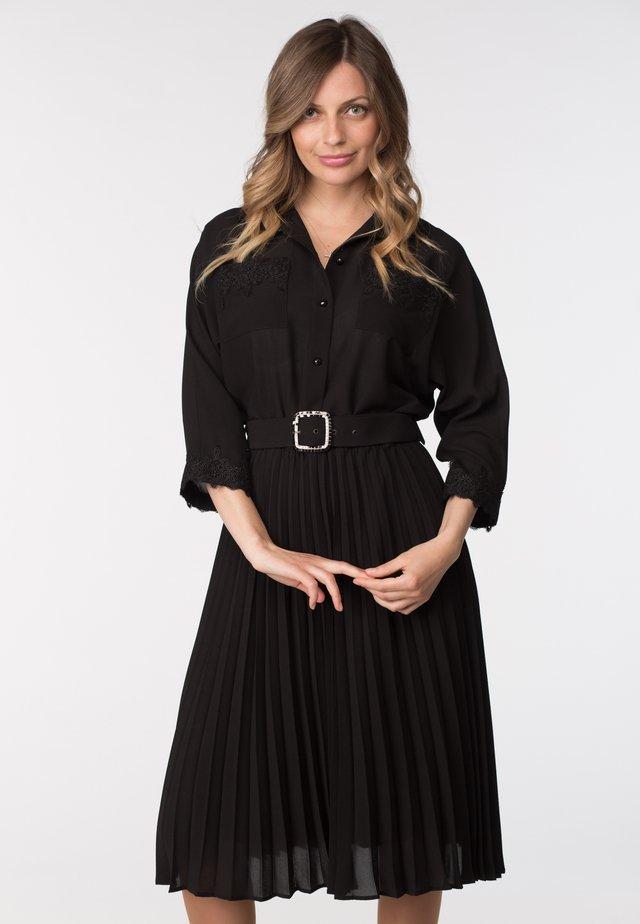 CLIFFON - Shirt dress - black
