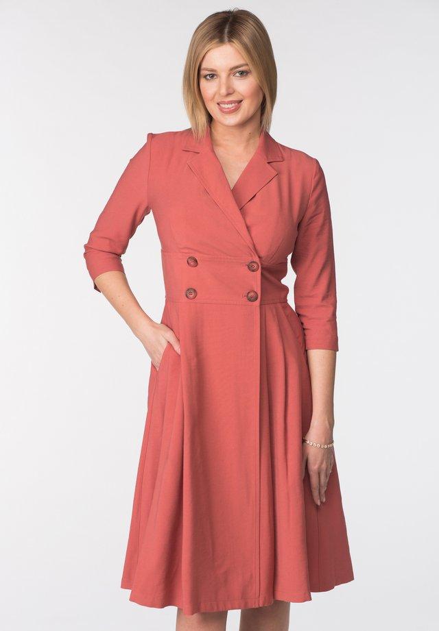 DRESS KLAYN - Cocktail dress / Party dress - peach