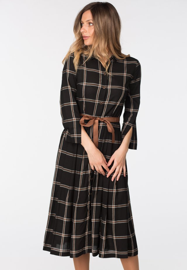 VIVA - Day dress - black check