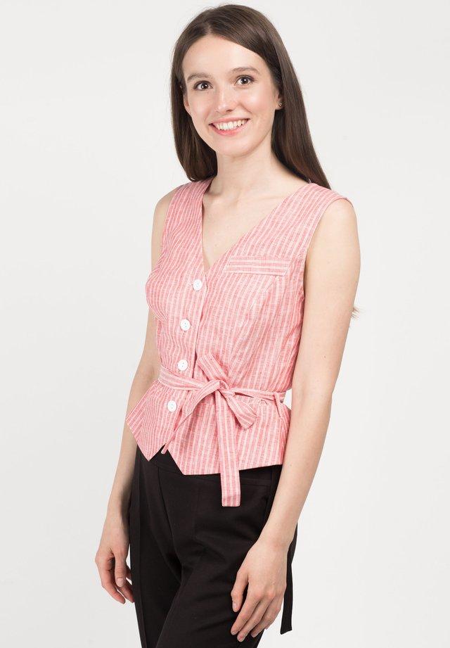 SELYAWI - Blouse - pink stripes