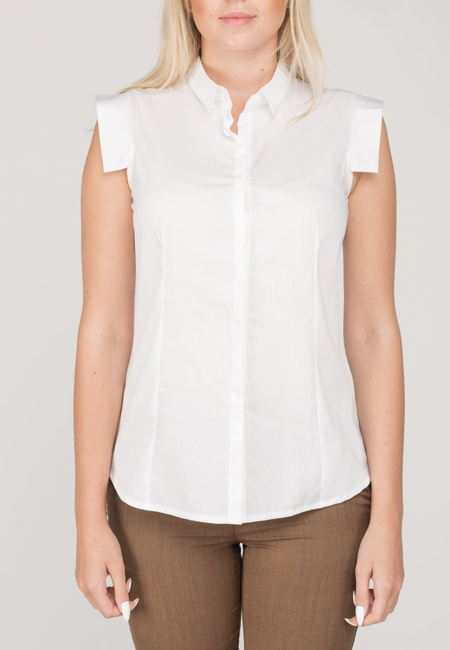 ELEN - Button-down blouse - white