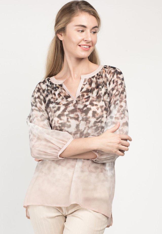 LAVITYA - Blouse - brown print