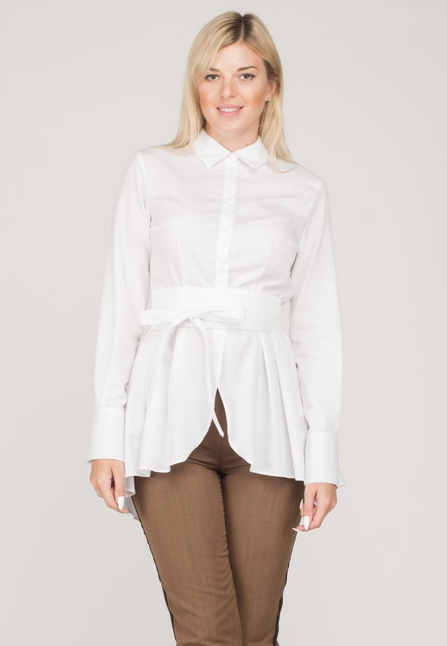 FLAVIA - Button-down blouse - white