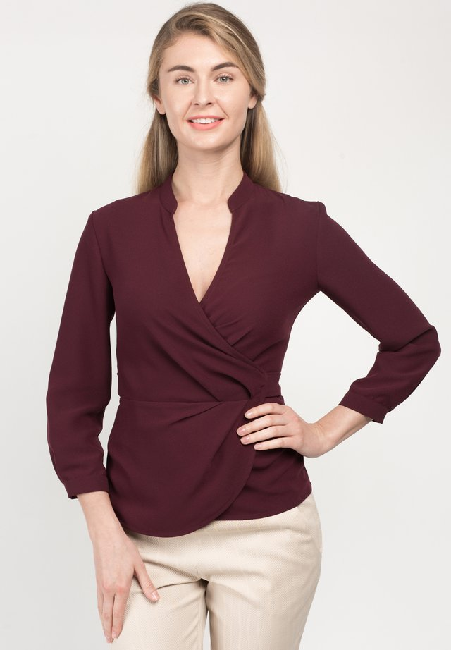 STELLEYTA - Blouse - burgundy
