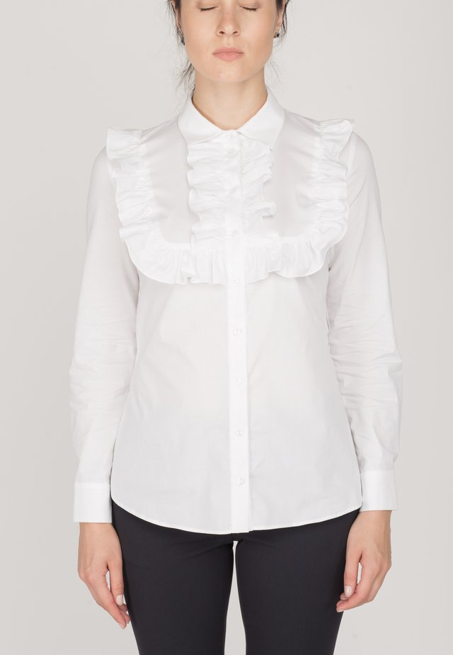 EALING - Button-down blouse - white