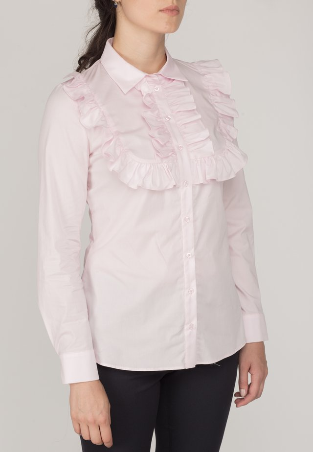 POLINA - Button-down blouse - pink
