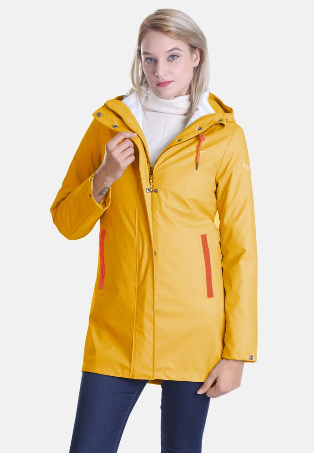 3 IN 1 - Waterproof jacket - gelb