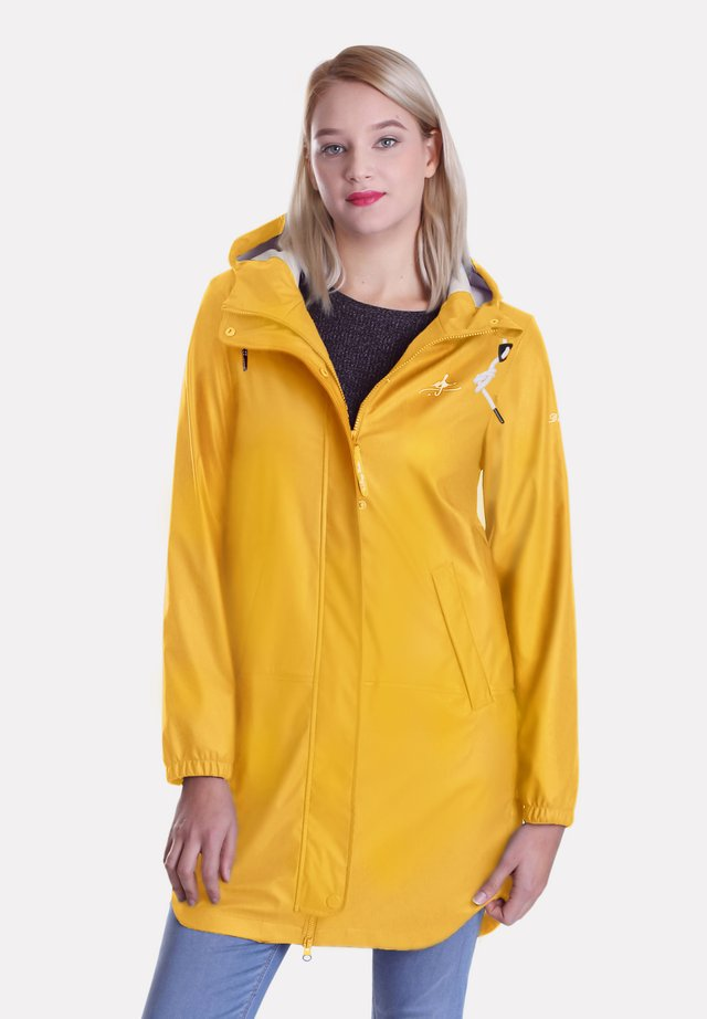 REGENJACKE FRIESENNERZ - Waterproof jacket - gelb