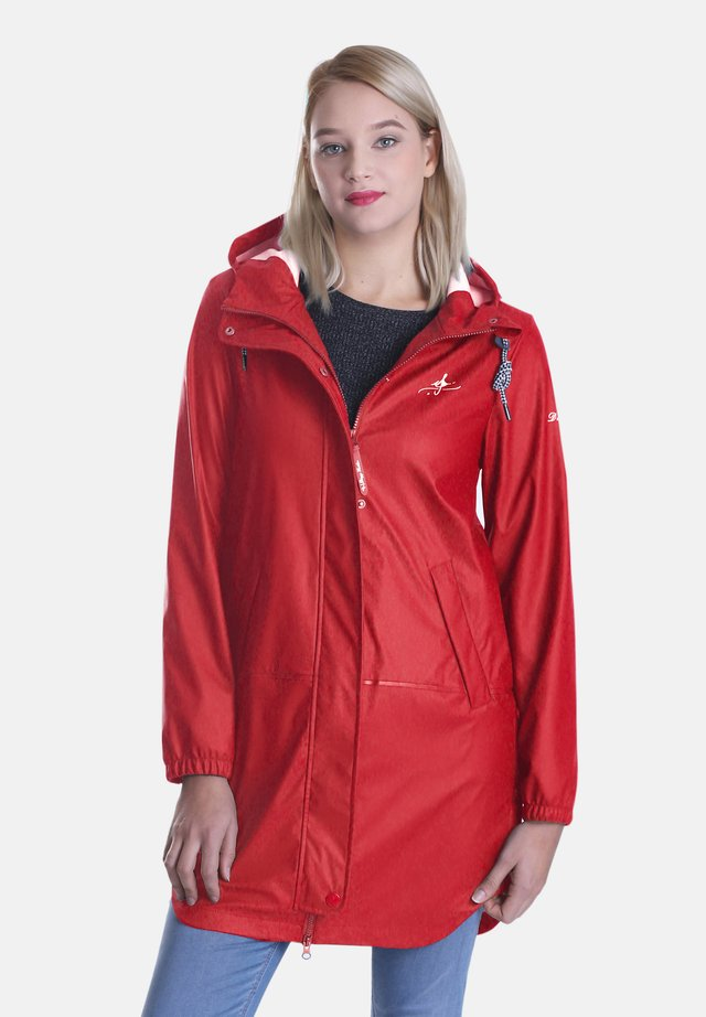 REGENJACKE FRIESENNERZ - Waterproof jacket - rot