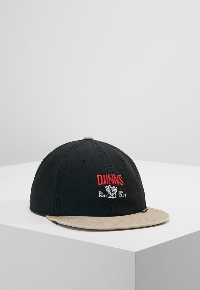 DECONSTRUCTED DO NOTHING - Caps - black/beige