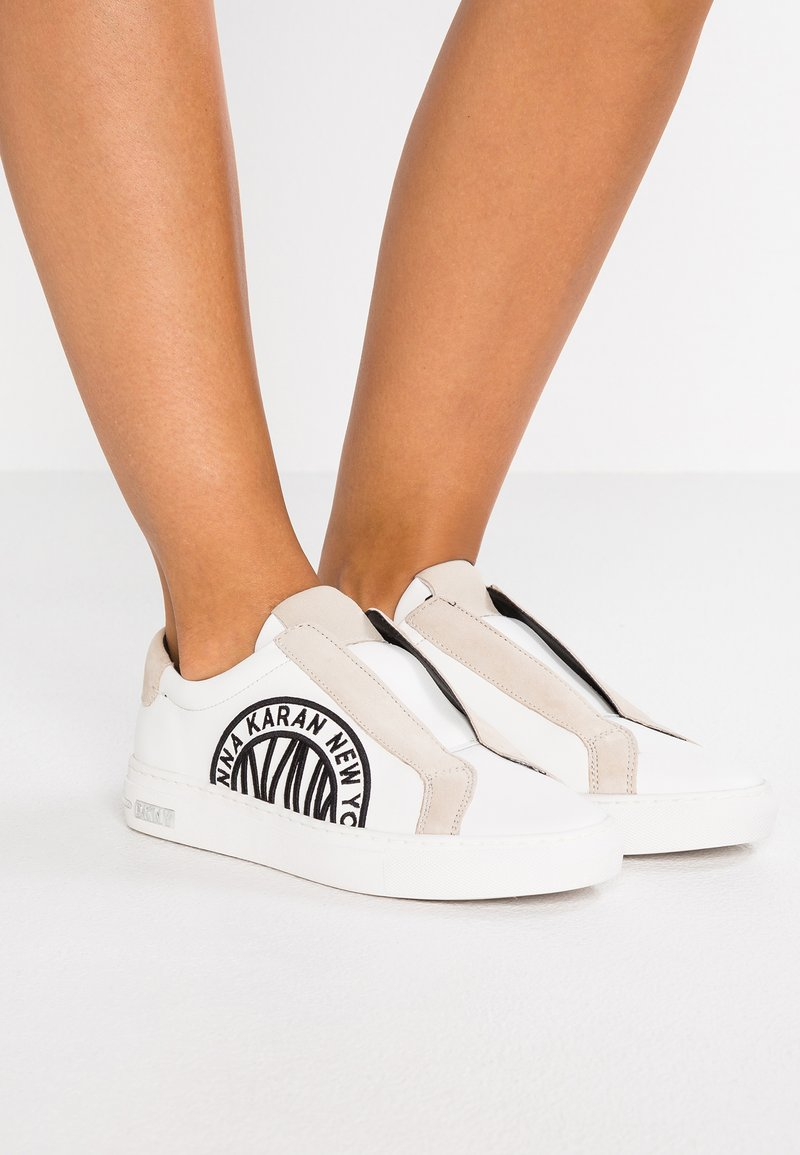 DKNY - CALLIE - Loafers - white