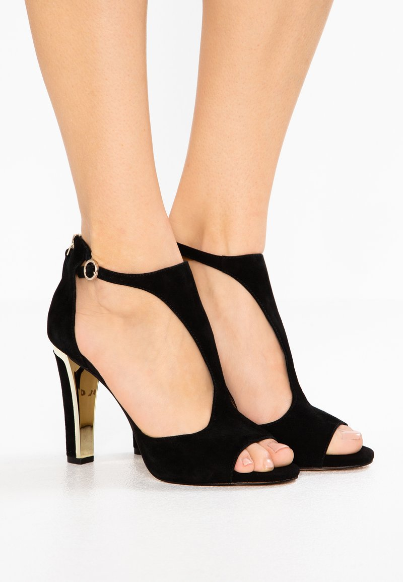DKNY - COLBY ANKLE STRAP - High heeled sandals - black