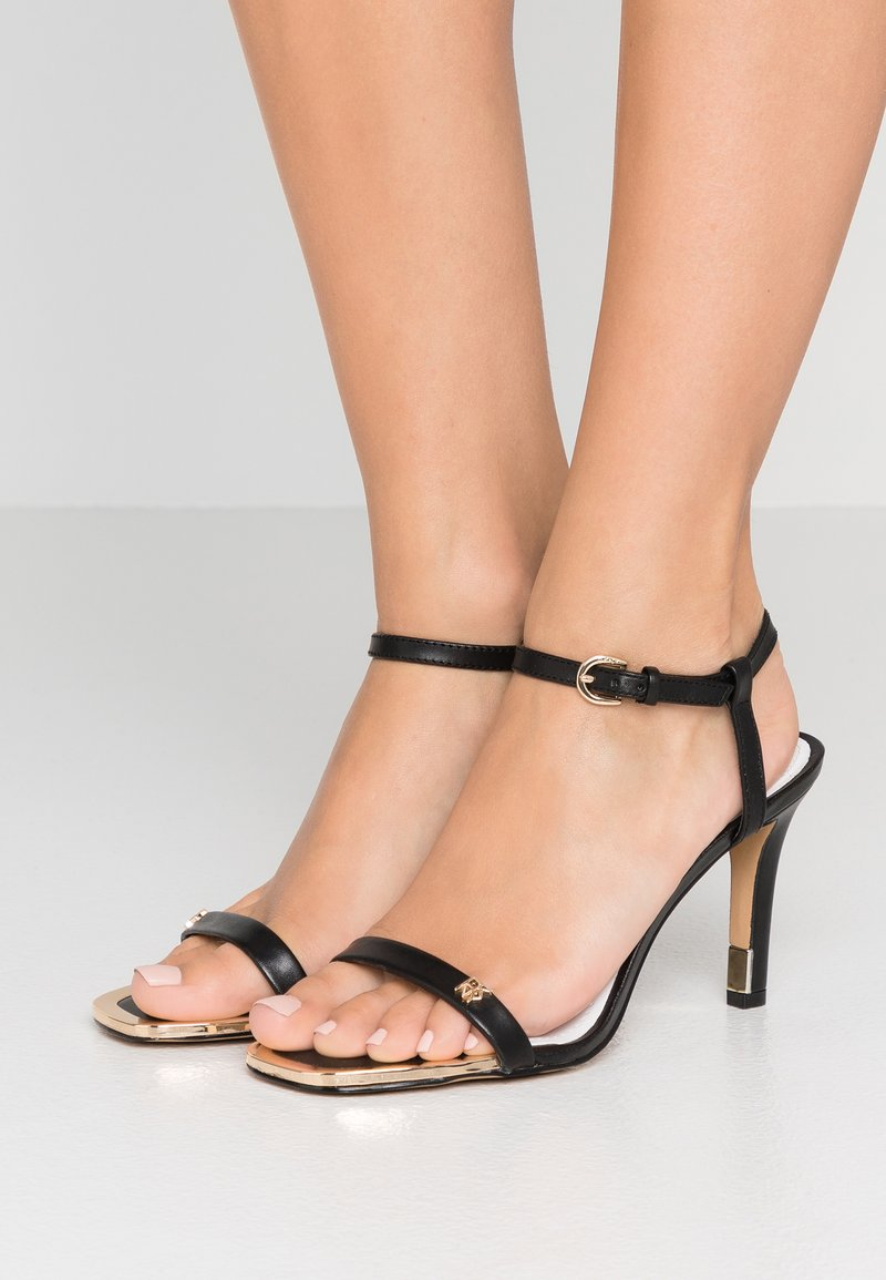 DKNY - BRICE - Sandalias de tacón - black