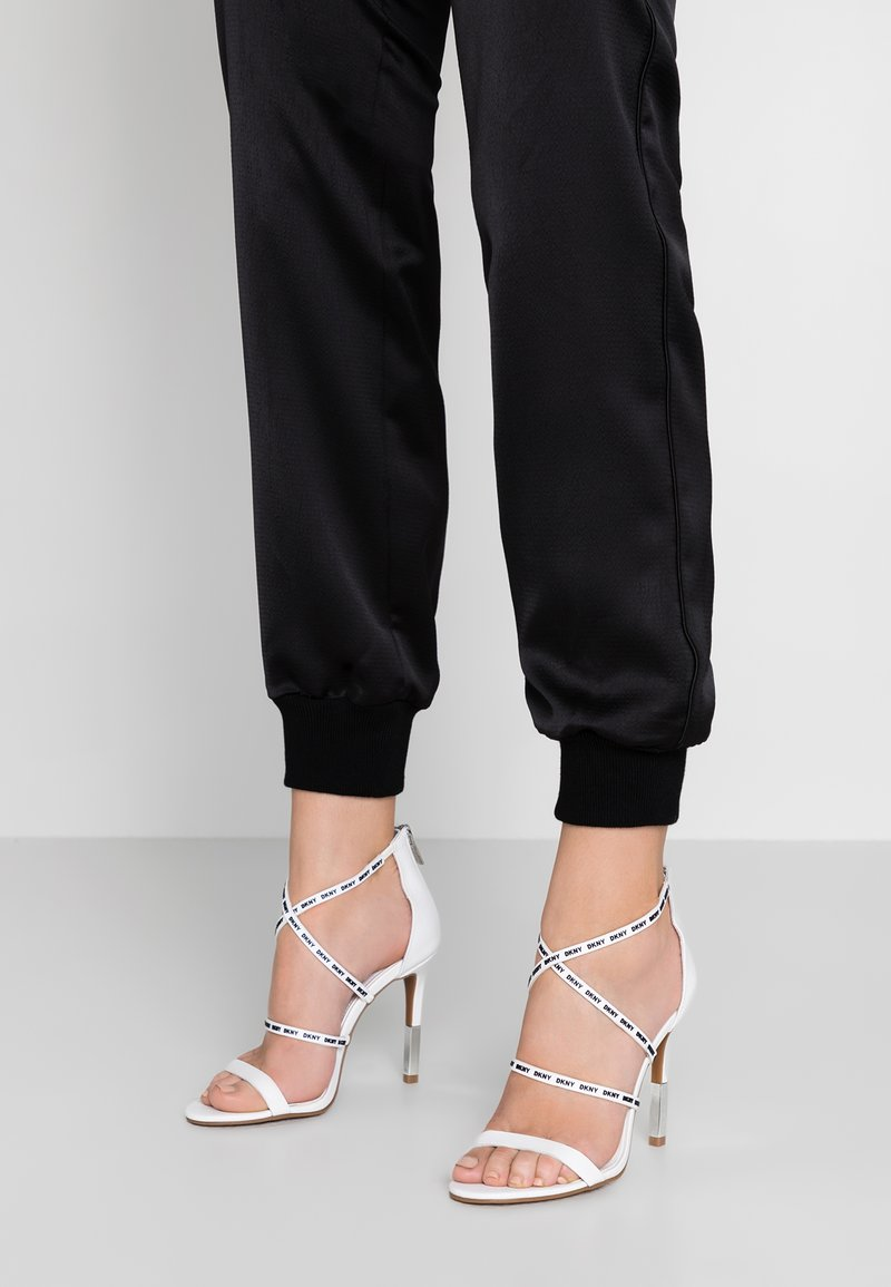 DKNY - LIMMI - High heeled sandals - white