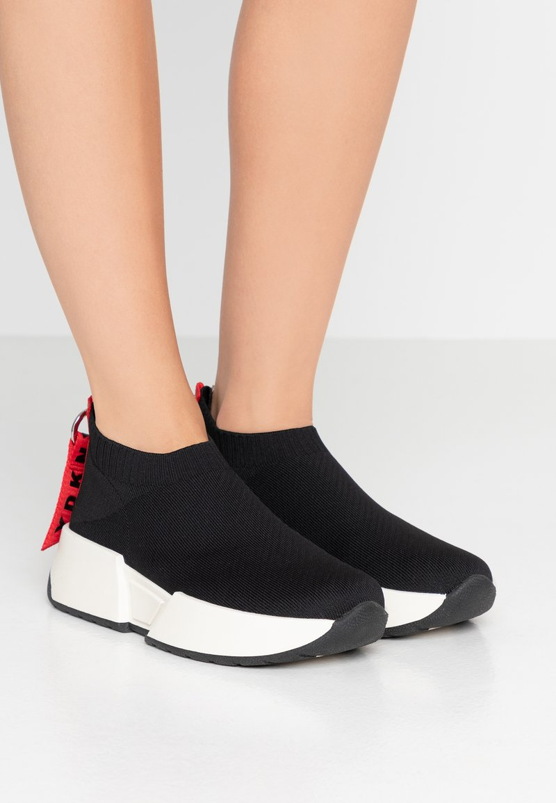 DKNY - MARCEL - High-top trainers - black