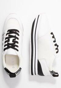 DKNY - PANYA - Baskets basses - white/black - 3