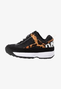 DKNY - DANI - Sneakers laag - black/camel/multicolor - 1