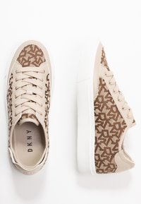 DKNY - REESA LACE UP - Sneaker low - chino - 3